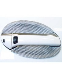 Artisan Spirits Silver Carbon Fiber Door Handle Covers Mercedes-Benz SL500 02-08