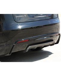 Artisan Spirits Carbon Fiber Rear Half Spoiler Tesla Model S 13-19