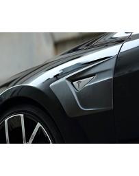 Artisan Spirits Carbon Fiber Fender Add-On Tesla Model S 13-19