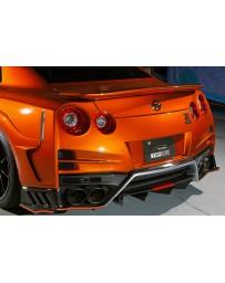 Top Secret Nissan R35 GT-R M17 Rear Bumper