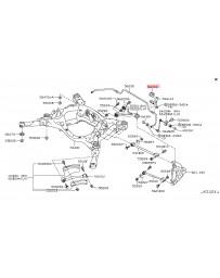 R35 GT-R Nissan OEM Rear Stabilizer Sway Bar Bushing