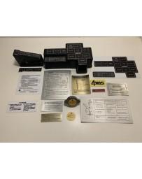 300ZX Z32 Blaster Z 1990-1991 Twin Turbo Engine Bay Decal Kit 1991