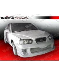 VIS Racing 2001-2003 Hyundai Elantra 4Dr Ballistix Full Kit