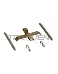 R33 Nissan OEM Hardware Kit - Clip, Pin, & Cross Spring Rear Brembo
