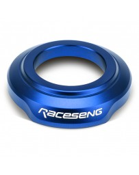 Raceseng Shift Boot Collar (For Non-Threaded Adapters/No Big Bore Knobs/No Reverse Lockouts) - Blue