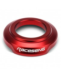 Raceseng Shift Boot Collar (For Non-Threaded Adapters/No Big Bore Knobs/No Reverse Lockouts) - Red
