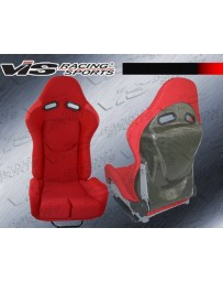 VIS Racing Universal Type Lms Kevlar Carbon Fiber Reclinable Racing Seat With Slider