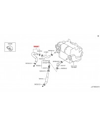 350z DE Z33 Nissan OEM Hose Heater Inlet