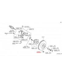 370z Z34 Nissan OEM Plug Inspection Hole