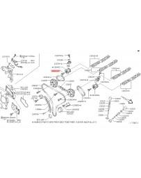 370z Z34 Nissan OEM Bolt Sprocket Camshaft