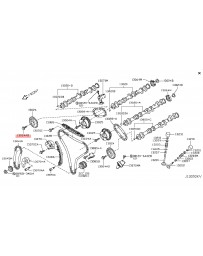 350z DE Z33 Nissan OEM Exhaust Camshaft Sprocket Gear Bolt - VQ35DE Non-Revup