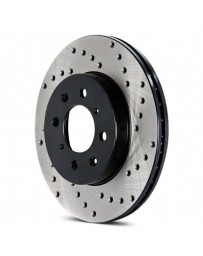 Mustang 2015+ StopTech Drilled Sport Rear Driver Side Brake Rotor