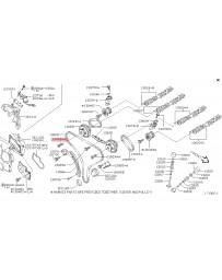 350z DE Z33 Nissan OEM Intake Camshaft Sprocket Gear Bolt - VQ35DE