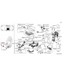 350z HR Z33 Nissan OEM Seal Bolt Cover Cap 07-08