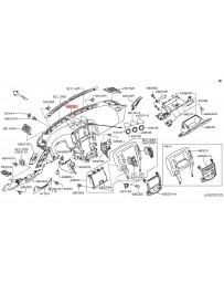 370z Z34 Nissan OEM Panel & Pad Assy Instrument