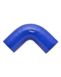 "Vibrant Performance 90 Degree Elbow, 2.00"" I.D. x 4.00"" Leg Length - Blue"