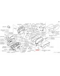 300zx Z32 Nissan OEM 280ZX Oil Temperature Sensor L28ET - Turbo Only