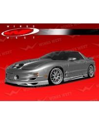 VIS Racing 1998-2002 Pontiac Trans Am Jpc Side Skirts Polyurethane.