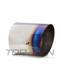 "370z HKS Exhaust Tip - Burnt Steel (Titanium Look), (119mm) 4.7"" OD, (140mm) 5.50"" L"