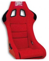 ChargeSpeed Bucket Racing Seat Shark Type FRP Red Old