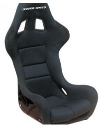 ChargeSpeed Bucket Racing Seat Spiritz SS Type FRP Black