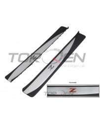 370z Nissan OEM Illuminated Threshold Kick Plates