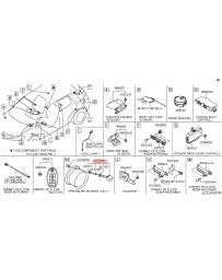 370z Z34 Nissan OEM TPMS Tire Pressure Monitoring System Sensor Assembly, 09-02/10