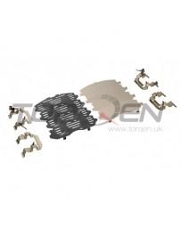 370z Z34 Nissan OEM Front Brake Pad Shim Kit with Standard Non-Brembo Calipers