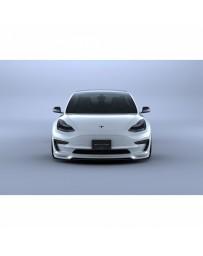 Artisan Spirits Black Label Front Under Spoiler (CFRP) - Tesla Model 3 2017+