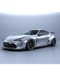 Artisan Spirits Black Label 4pc Kit (FRP) w/ Fenders (FRP w/CFRP Ducts) - Toyota 86 2013+