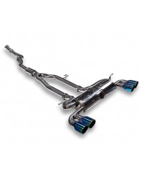 ARK Performance DT-S Cat-Back Exhaust System Burnt Tip - Hyundai 2.0T Genesis Coupe 2010-2012
