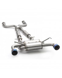 ARK Performance DT-S Cat-Back Exhaust System Burnt Tip - Nissan 09+ 370Z Z34