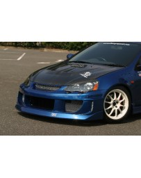 ChargeSpeed 02-04 RSX DC-5 Front Bumper (Japanese FRP)
