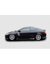 ChargeSpeed 05-06 RSX DC-5 Kouki Bottom Line FRP Side Skirts
