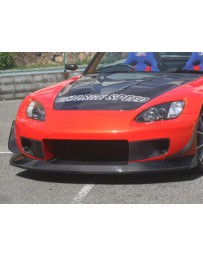 ChargeSpeed S2000 AP-1/2 Carbon Front Lip For Super GT WB