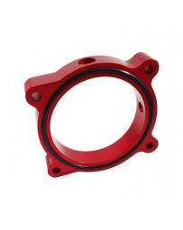 Mustang 2015+ Torque Solution Throttle Body Spacer (Red)