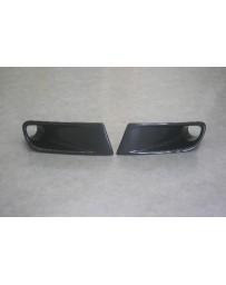 ChargeSpeed S2000 AP-1 Brake Duct For OEM Front Bumper Carbon