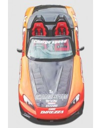 ChargeSpeed S2000 AP-/21 Vented FRP Hood (Japanese FRP)
