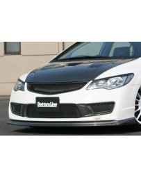 ChargeSpeed 06-10 Civic FD2 JDM Front Lip Carbon