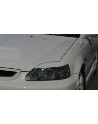 ChargeSpeed 99-00 Honda Civic All EK Front Headlight Eye Line