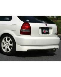 ChargeSpeed 99-00 Civic HB EK Rear Under Spoiler