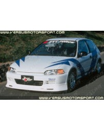ChargeSpeed 92-95 Civic EG HB/ Coupe Type-1 Front Spoiler