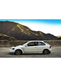 ChargeSpeed 99-00 Civic EK All Mode D1 Style 30MM Wide Fenders