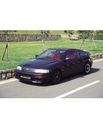 ChargeSpeed 90-91 CRX EF HB Front Spoiler (Japanese FRP)