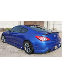 ChargeSpeed Hyundai Genesis Coupe Rear Bumper