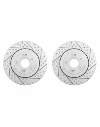 ARK Performance Hyundai Tiburon 2.0L/2.7L Rear Brake Rotors (03-06)