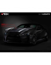 ARK Performance Legato Carbon Hood Hyundai Genesis Coupe (13-16)