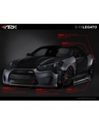 ARK Performance Legato Full Wide Body Kit Hyundai Genesis Coupe (13-16)