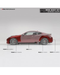 ARK Performance S-FX Full Wide Body Kit Hyundai Genesis Coupe (10-12)