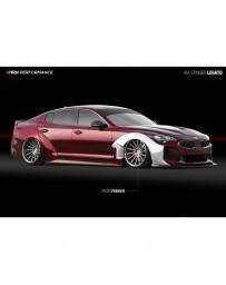 ARK Performance Legato Front Wide Over Fenders Kia Stinger (18+)